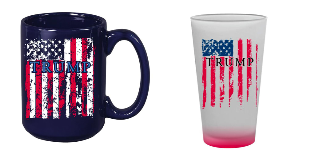 Store Debuts Trump Swag American Flag k8OwPn0X
