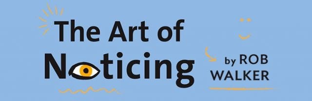 The Art of Noticing No  12: The 10-second Mr  Rogers Ask