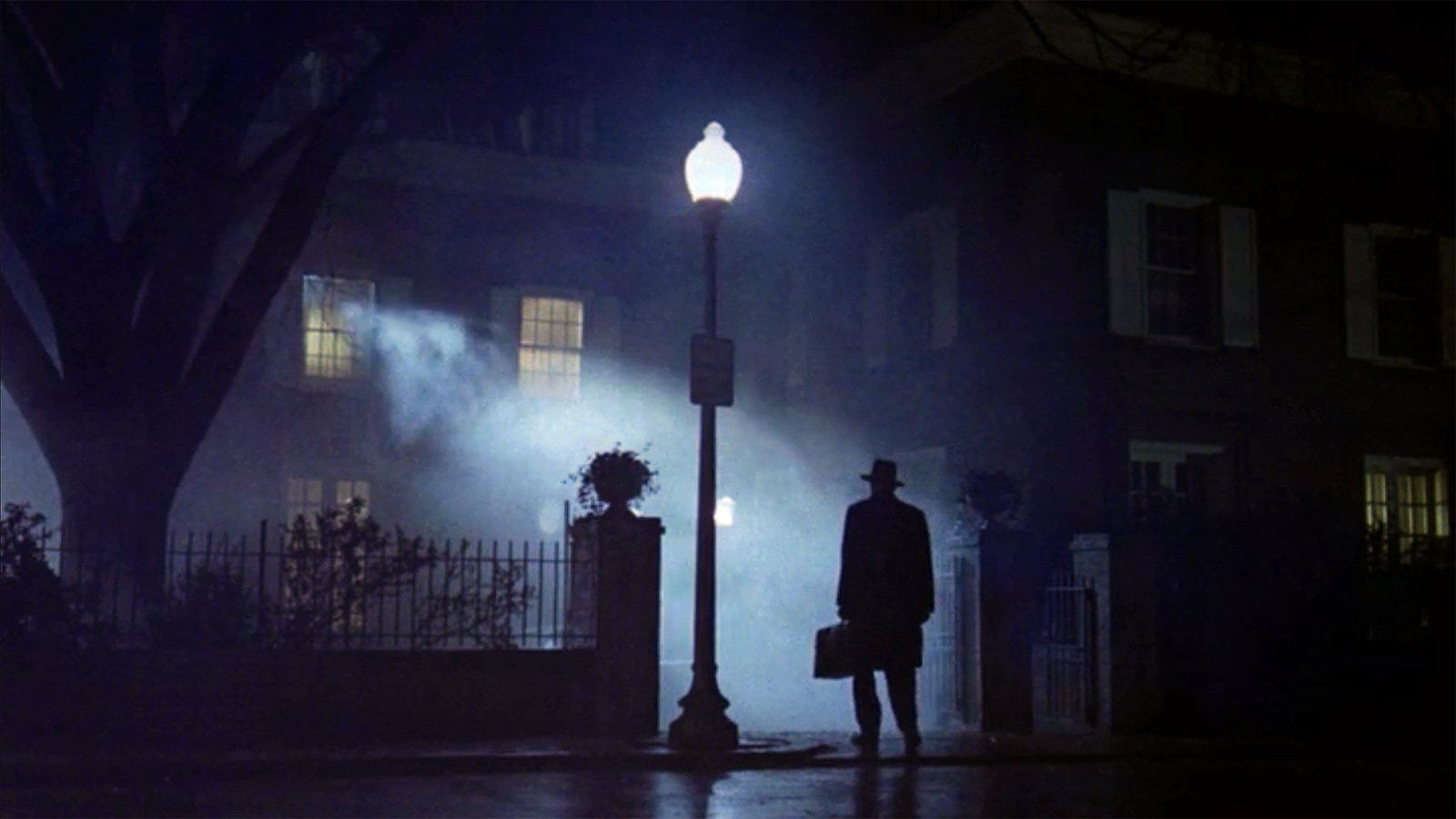 Image result for max von sydow exorcist lamp