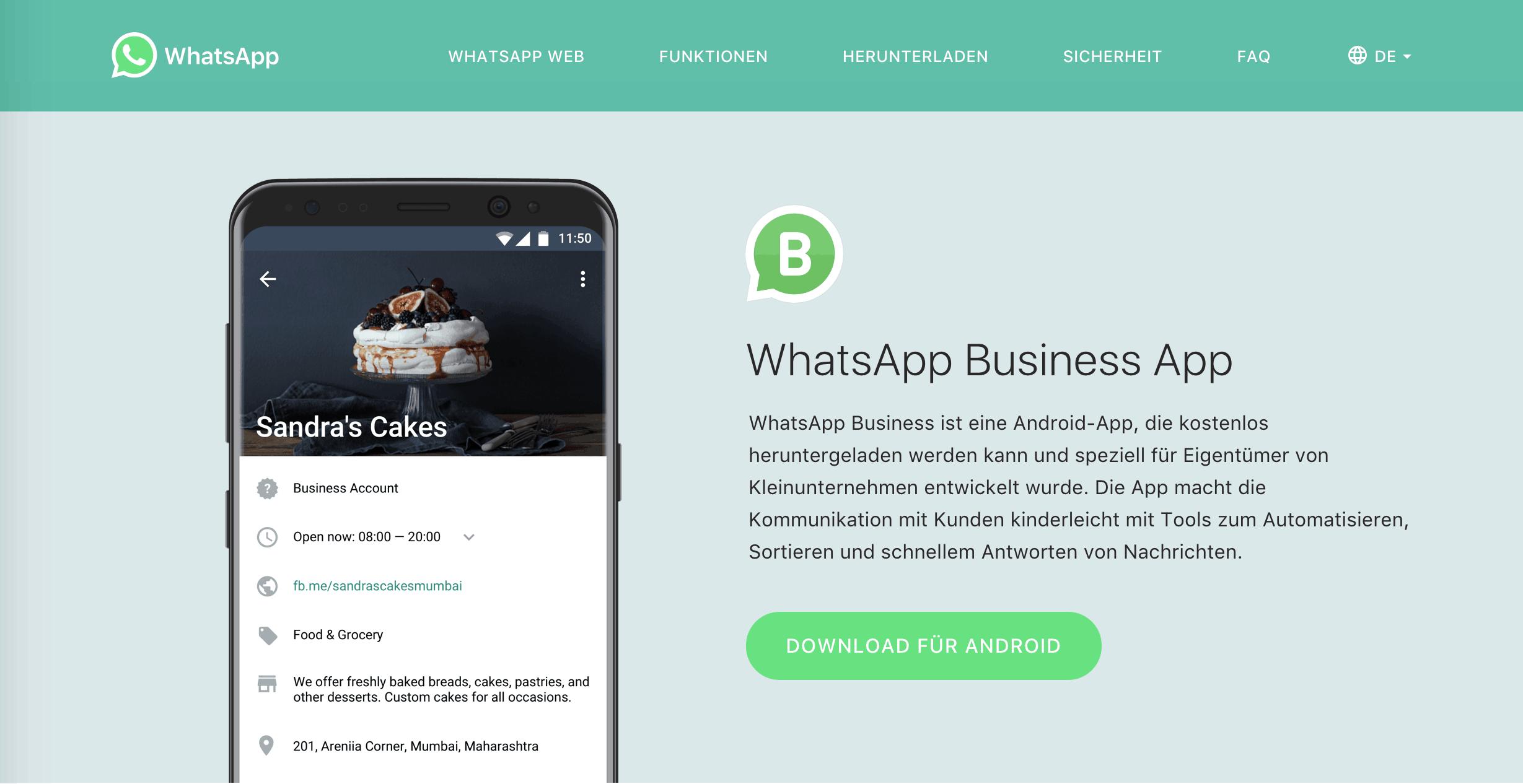 8 Whatsapp Ein Betriebssystem Für Kleine Stationäre Händler