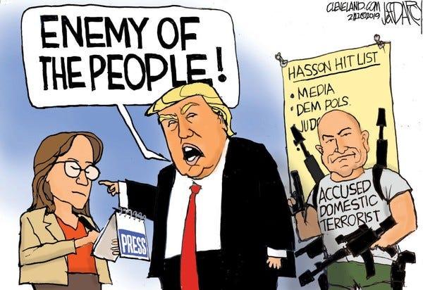 Trump's Weakness Is Dangerous