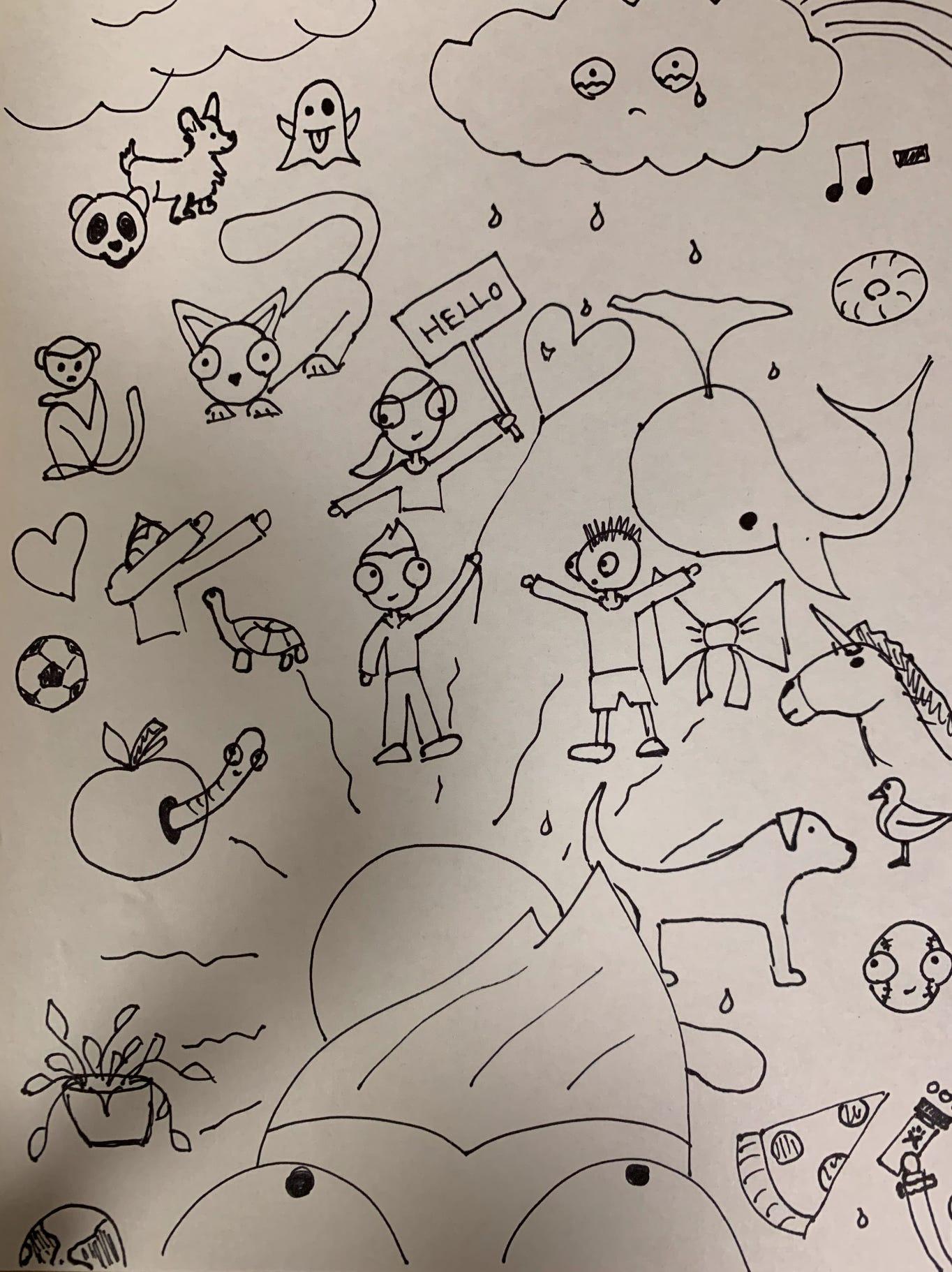 Tiktok Doodles - hot tiktok 2020   Doodle Art Tiktok Doodles
