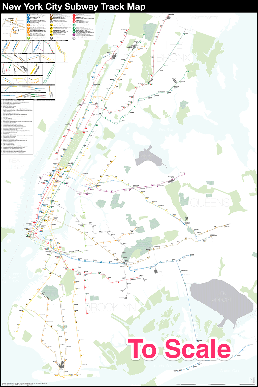 Howto Readthe Nyc Subway Map.Monday Musings 5 13 19