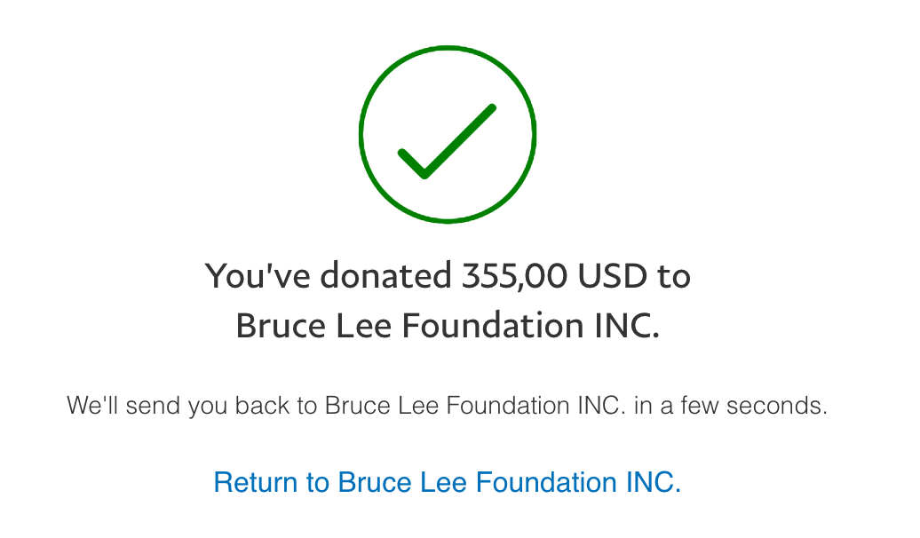 We raised $355 for charity!