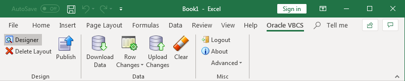 From Excel Straight Into Oracle Tables