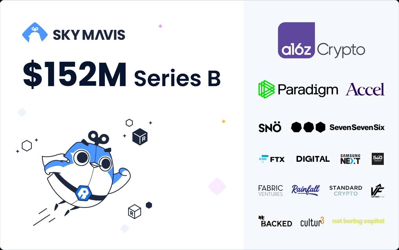 Sky Mavis (Axie Infinity) levée de fonds 152 millions de dollars