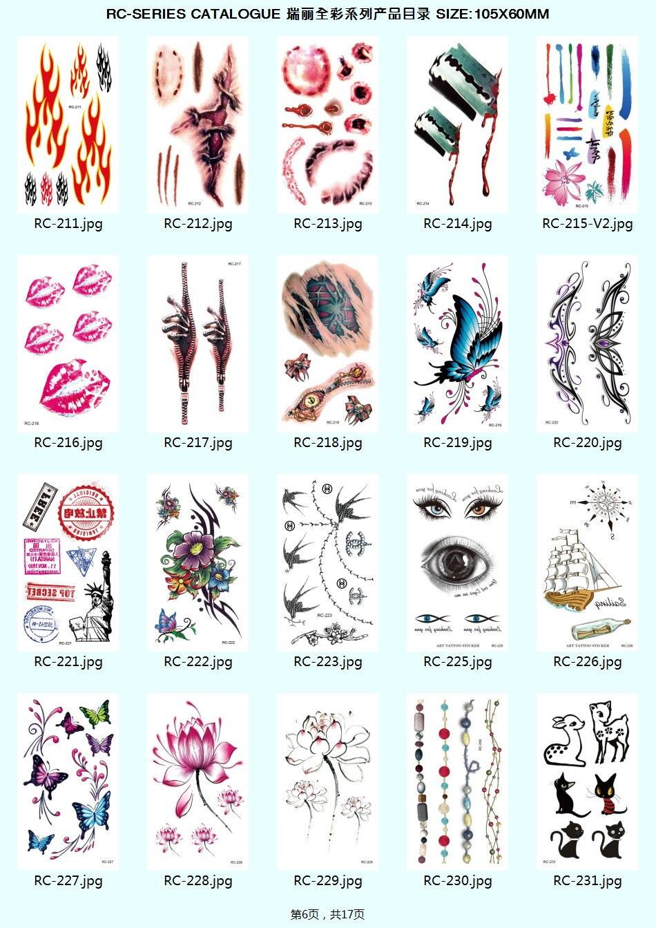 1522425543 3d Waterproof Temporary Tattoos Flash Body Art Tattoo Stickers Transferable Fake Tattoo Beauty Health Tattoo Body Art