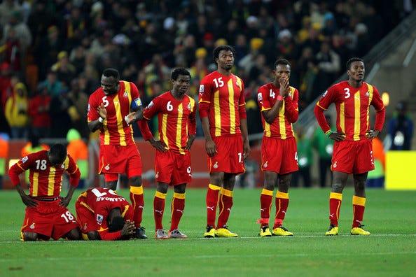 Woes of a Jabulani ball: Uruguay dump Ghana - by godfred boafo - Secrets of  Ghanaian Sports