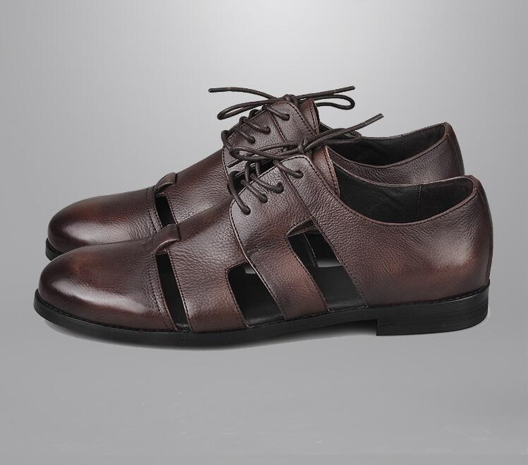 408318925 Summer Men's Sandals Genuine
