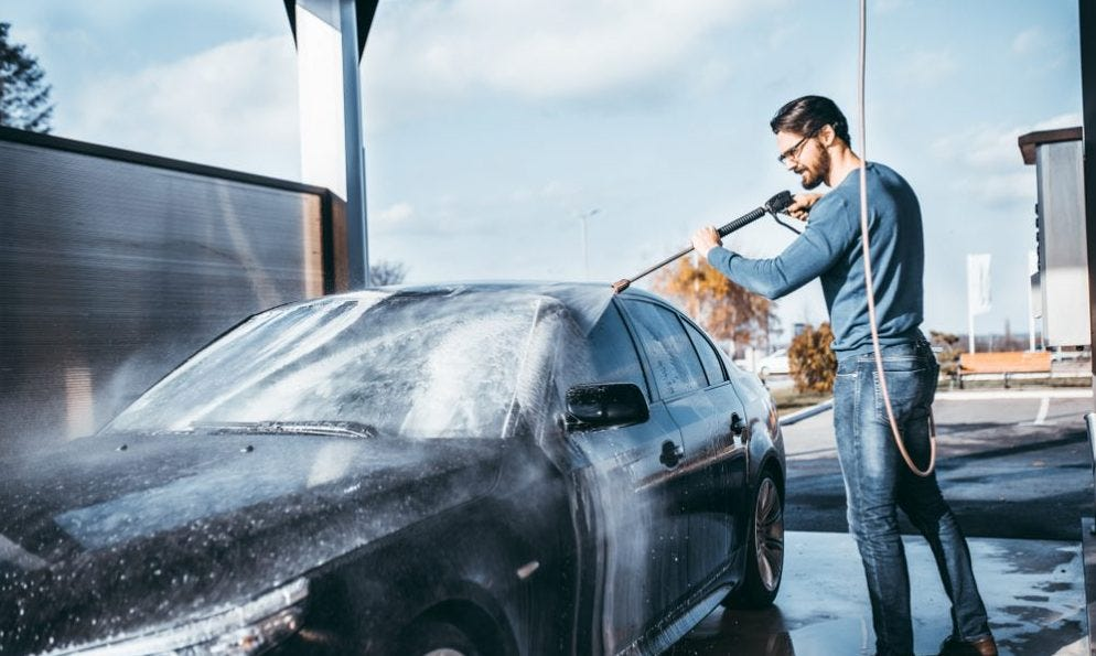 The mechanism that will save you a lot of time when washing your car