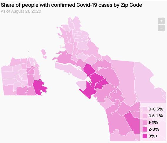 The Geography Of Bay Area Coronavirus San francisco bay area maps. the golden stats warrior substack
