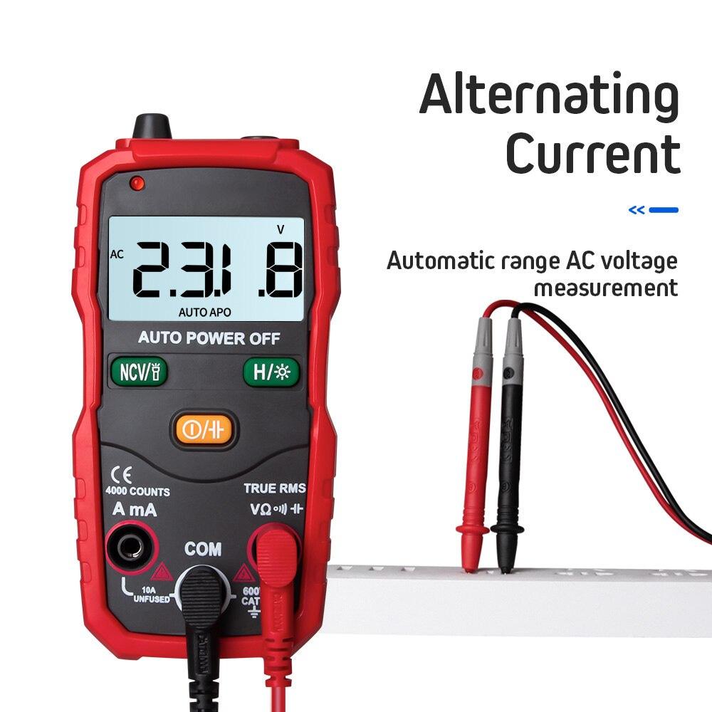 Digital Multimeter Transistor Capacitor Tester Electrical Capacitance Meter