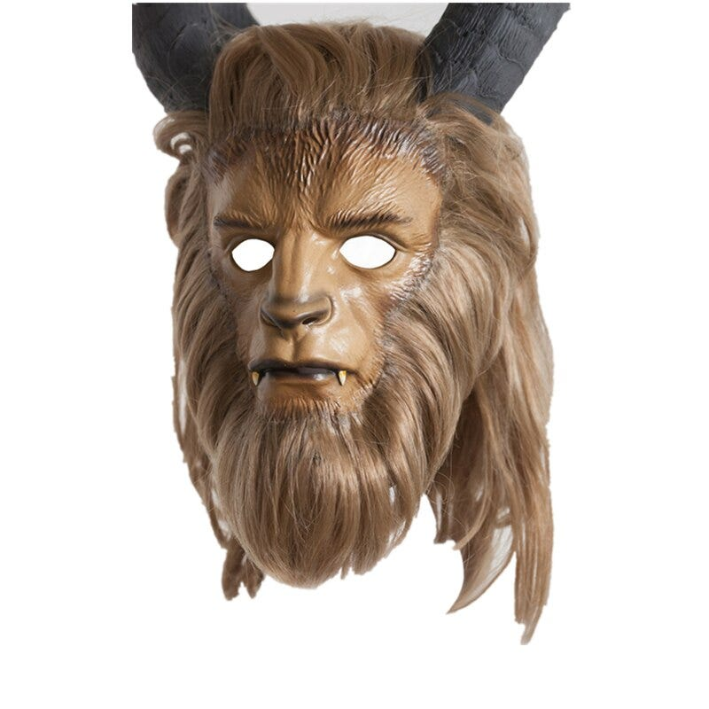1875091442 Beauty And The Beast Mask Adam Prince Mask Cosplay Horror Helmet Latex Lion Helmet Custume For Halloween Party Novelty Special Use Costumes Accessories