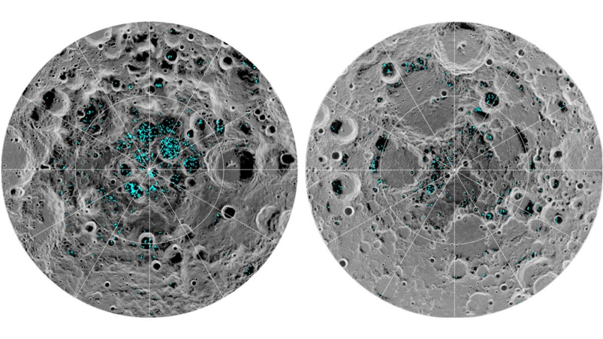 ISRO-SAC Find Presence of Hydroxyl and Water Molecules on Moon