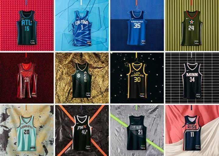 Rebel Edition jerseys released by Nike bring WNBA cities to life ...