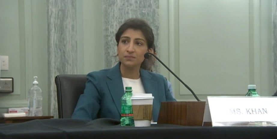 FTC Nominee Lina Khan Fires a Warning Shot at Big Tech -