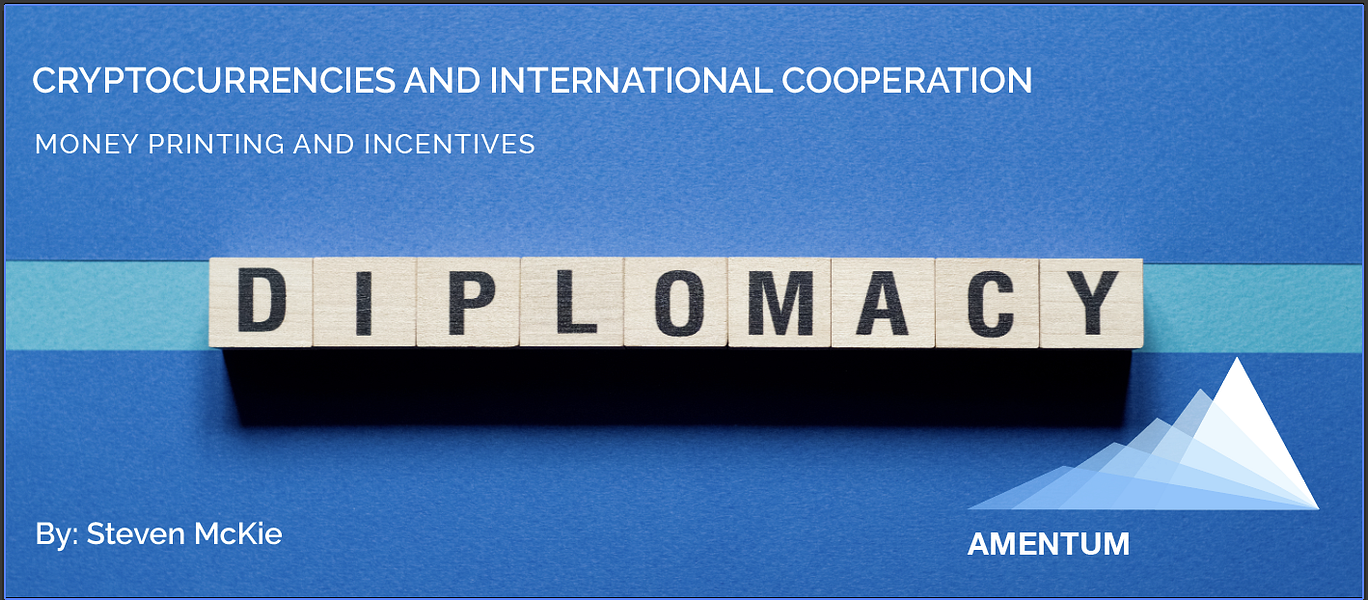 Cryptocurrencies and International Cooperation