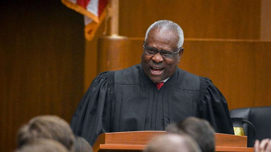 Why Is Clarence Thomas Attacking Google?