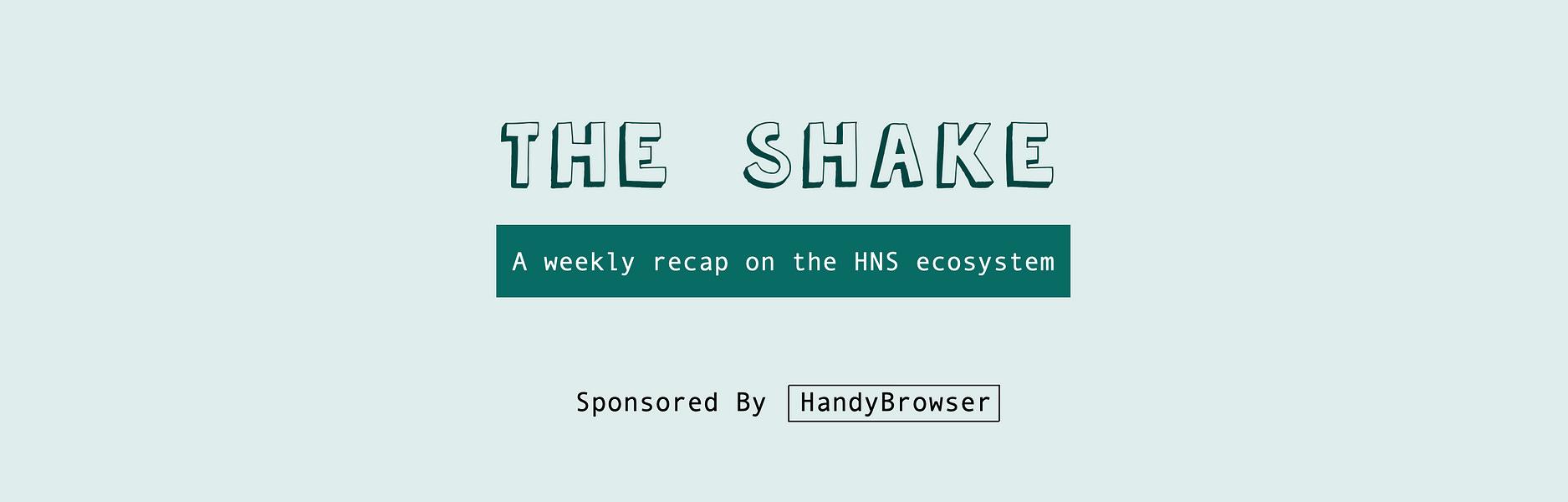 The Shake: Nov. 15, 2020