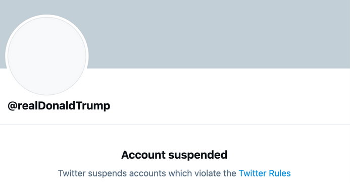Banning Trump is already working — Twitter should've done it years ago