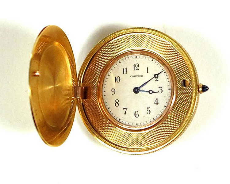 3 Timepieces Given to President Franklin D. Roosevelt, Including a (Rarely Seen) Cartier Coin Watch Gifted by Pierre Cartier