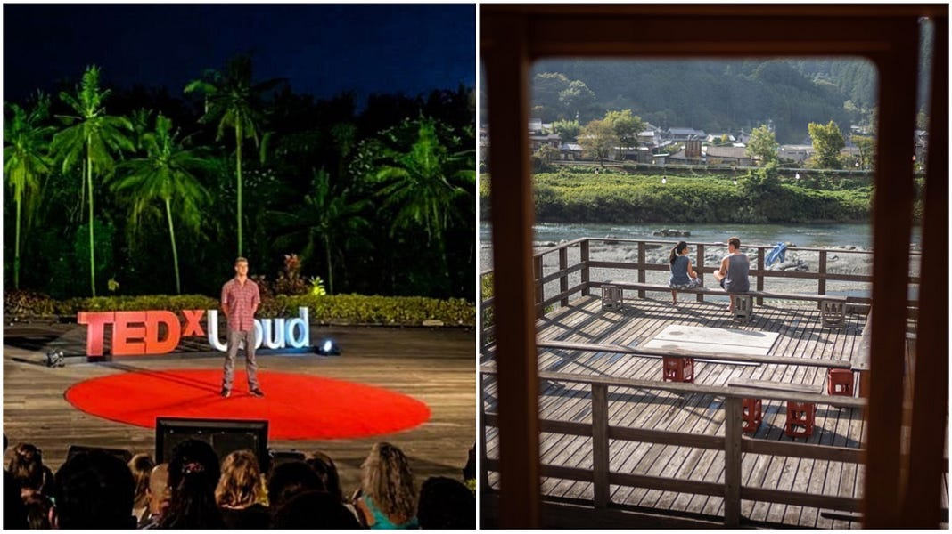 The Maker's Dilemma, TEDx Ubud & An Antidote to 'Total Work'