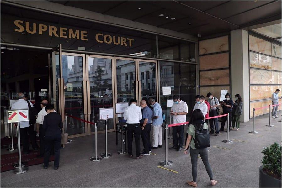 Singapore's Litigious PM Lee at it Again