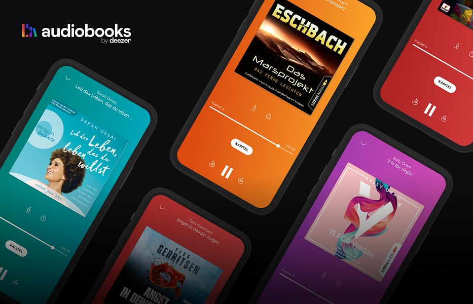 Deezer now offers audiobooks for paid users, starting in Germany