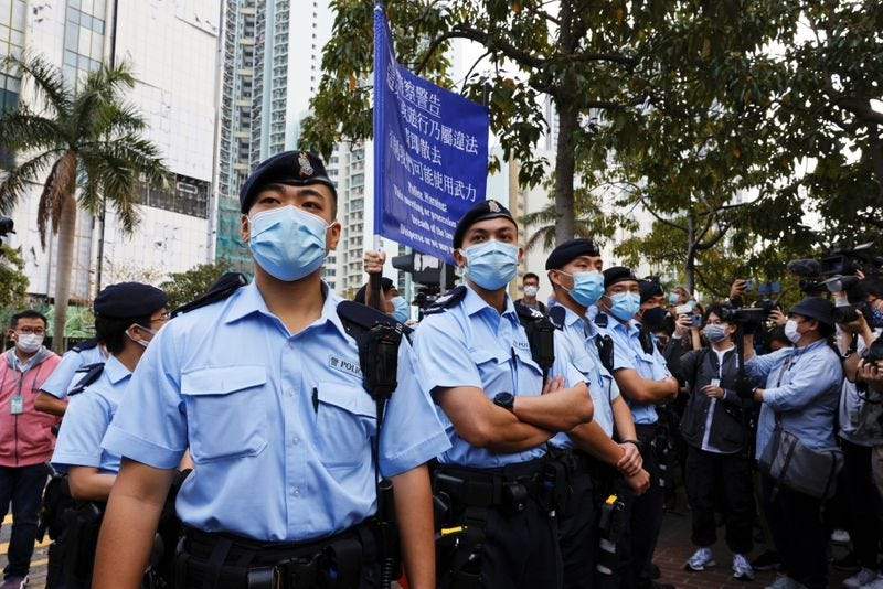 Beijing's Steady Drumbeat of Repression in Hong Kong