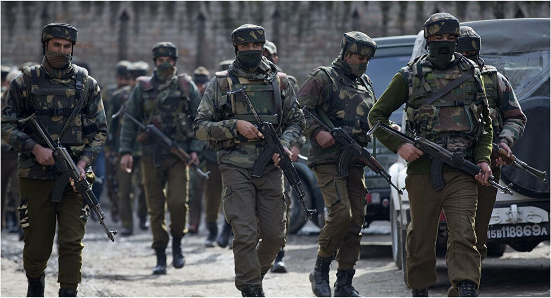 'Birdshot' Blinds Hundreds in Kashmir
