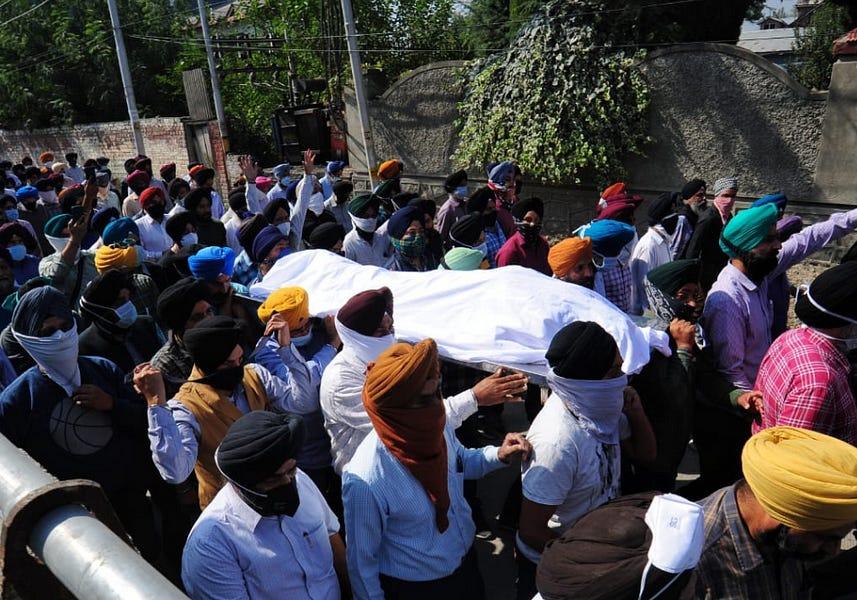 Ethnic Minority Killings TriggerKashmir Unrest
