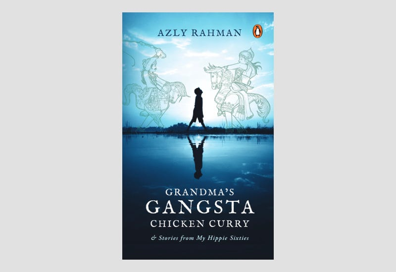 BOOK REVIEW: Grandma's Gangsta Chicken Curry and Gangsta Stories from My Hippie Sixties