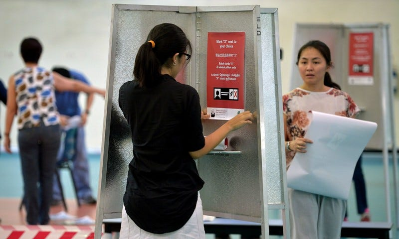 Pandemic or No Pandemic, Singapore Readies for Polls