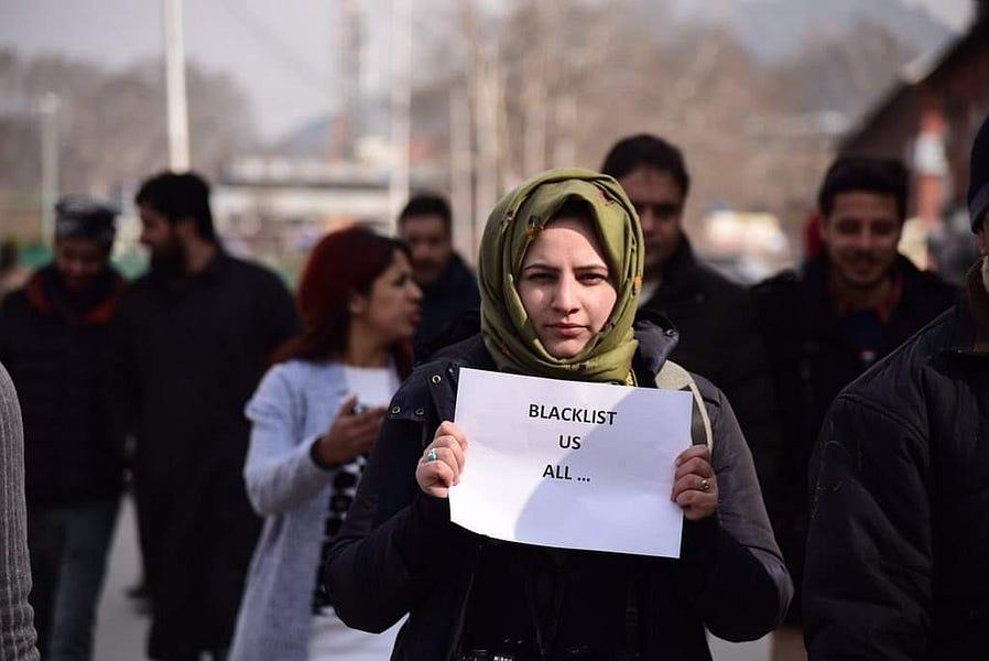 Kashmir Diary: Intimidating journalists, Criminalizing Journalism