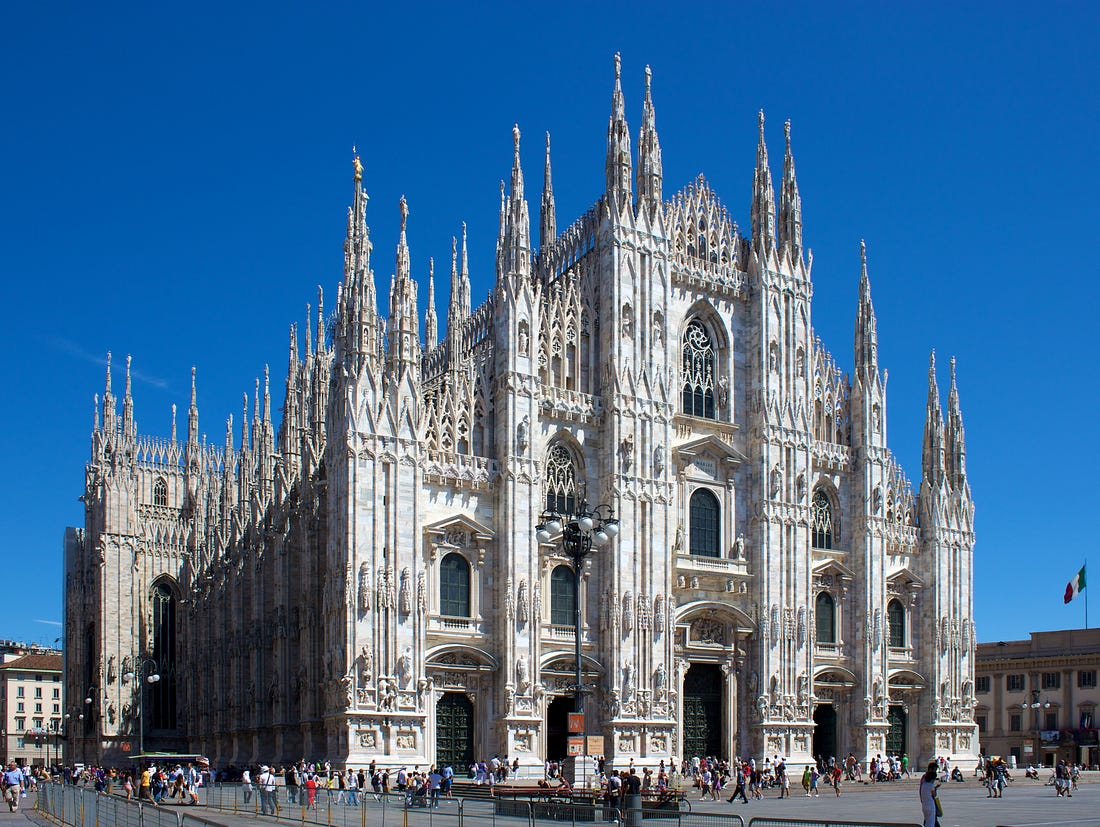 Image result for milan cathedral