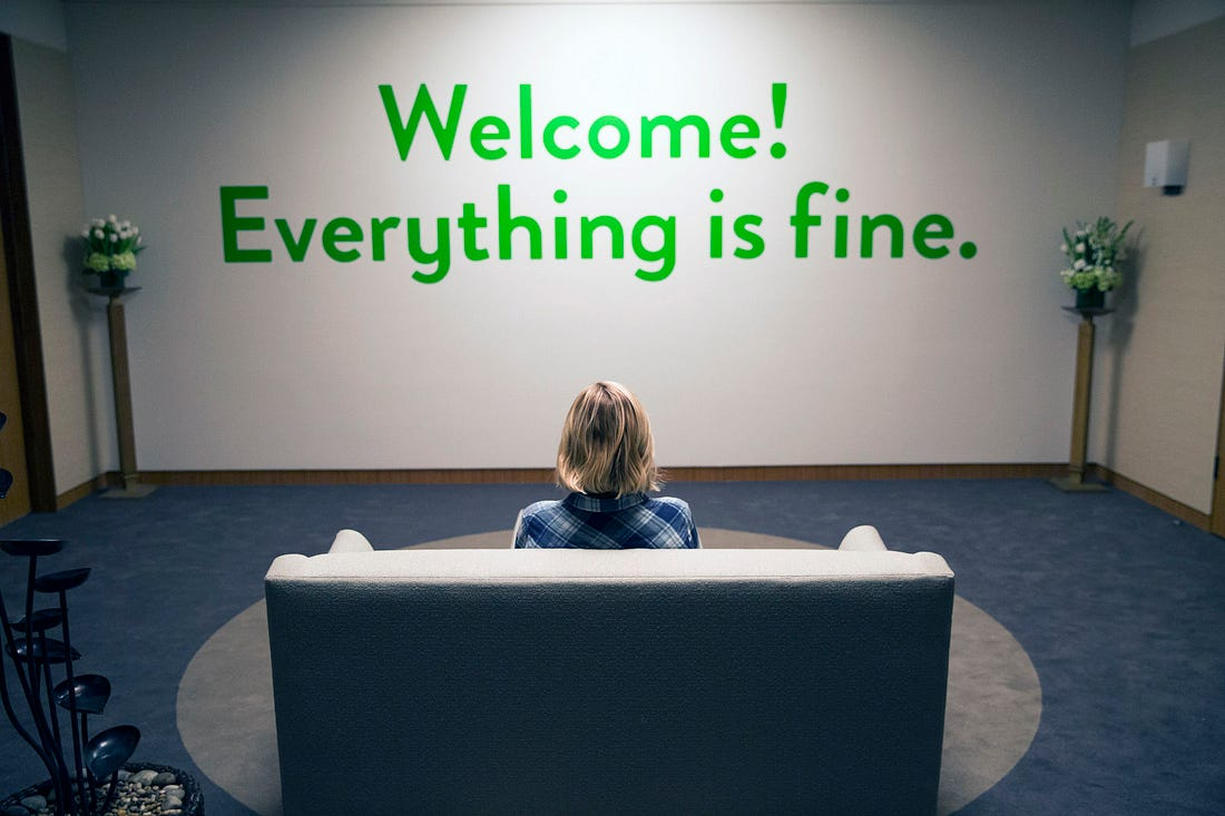 Image result for the good place everything is fine