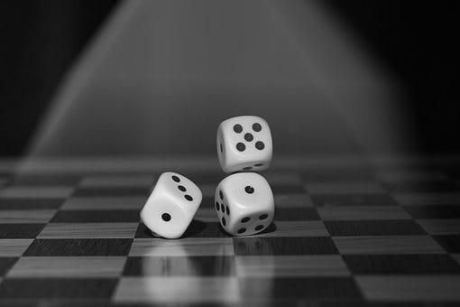 Roll The Dice, Craps, Board Game, Points