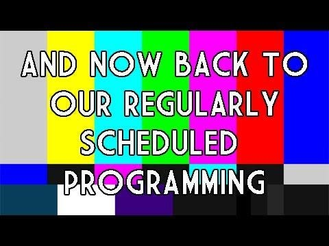 Image result for back to your regularly scheduled programming gif