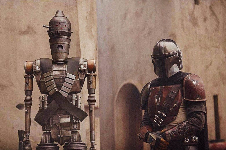 Image result for the mandalorian