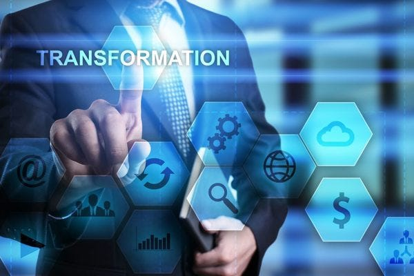 The CFO Led Digital Transformation Agenda