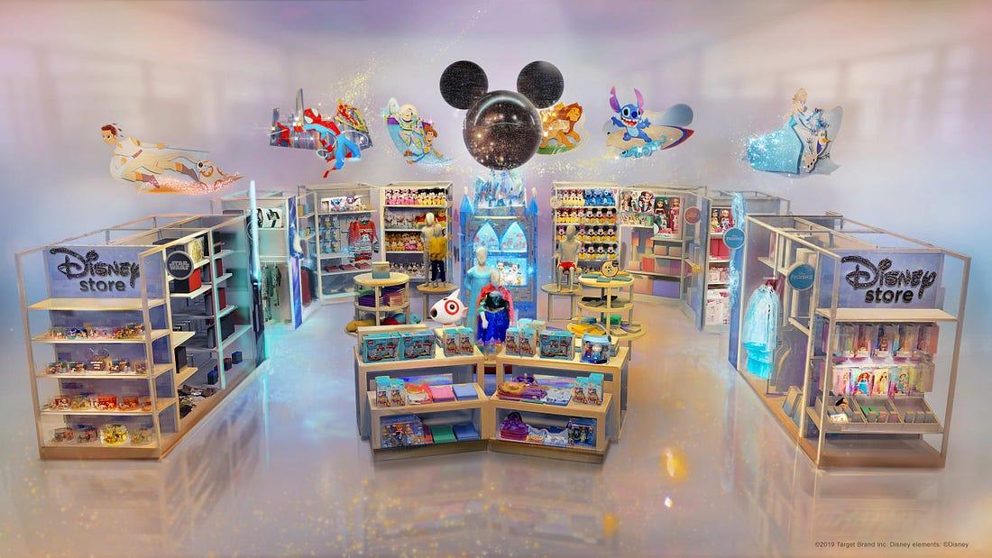 Disney Stores in Target, Int'l NFL Demand, T…