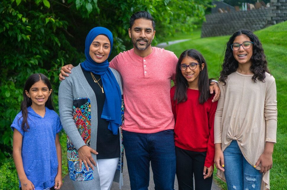 Ibrahim Moiz, a candidate for the Loudoun County Board of Supervisors, said his wife was accosted at a local shop by someone