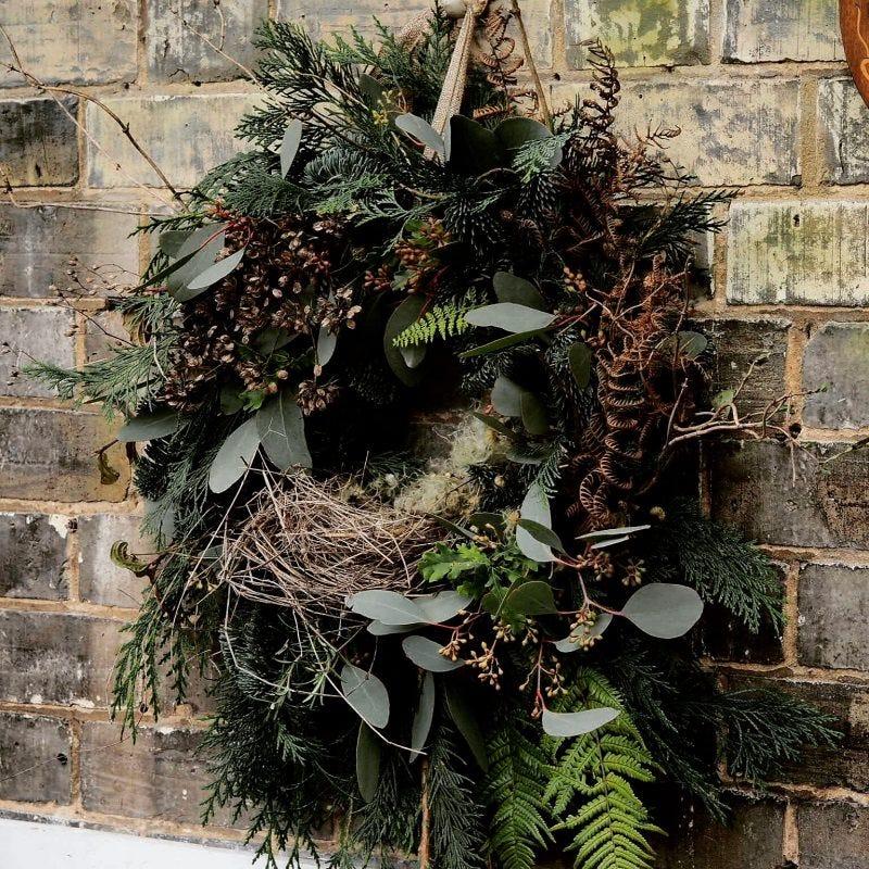 Christmas Wreath Workshop.