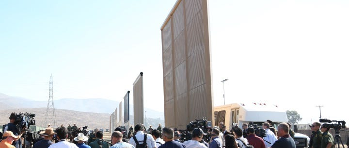 Image result for the border wall is now 8 billion