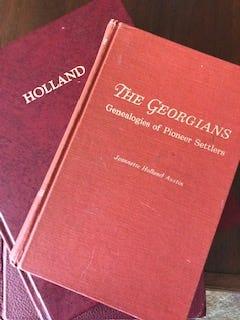Genealogy Books by Jeannette Holland Austin