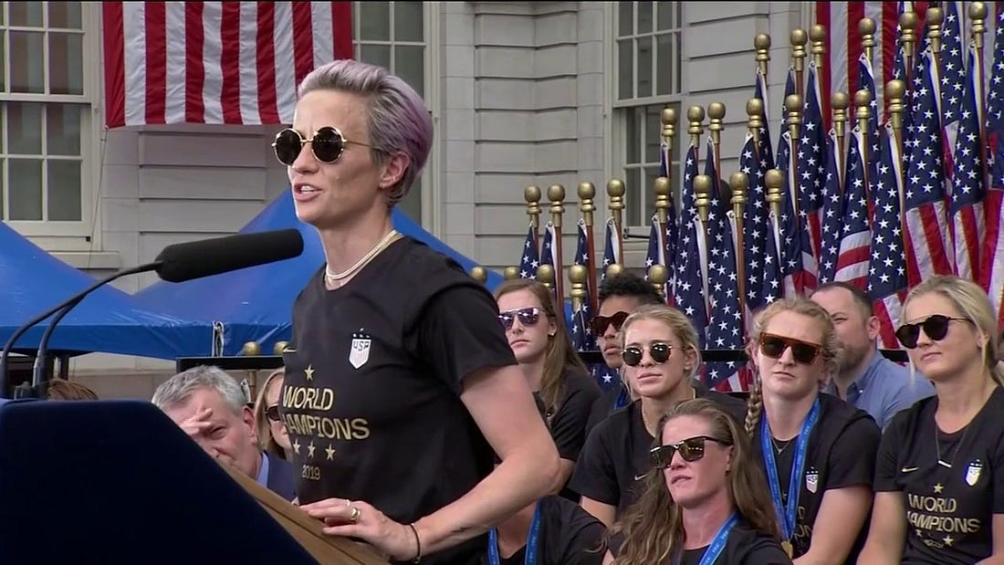 Image result for megan rapinoe parade remarks transcript