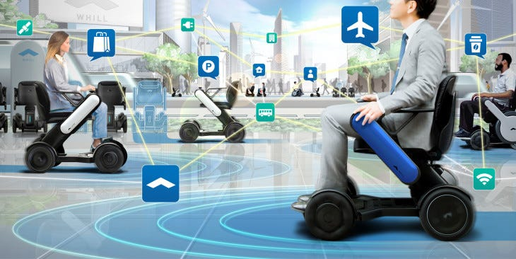Whill mobility devices