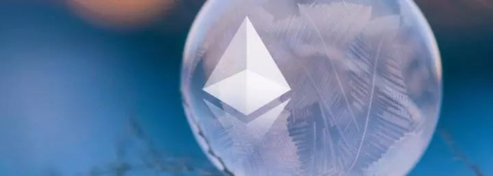 Ethereum price at historic low against Bitcoin amidst capacity crisis