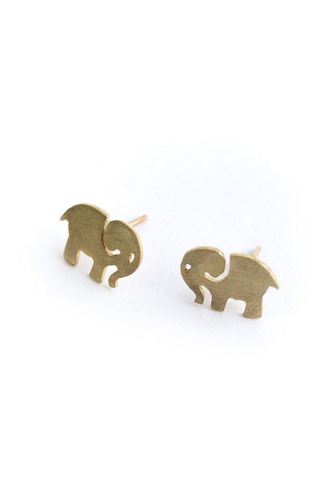 Elle Gold Earrings