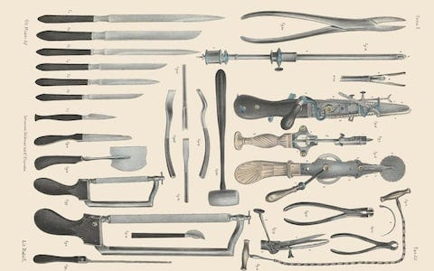 Image result for surgeon scalpel victorian